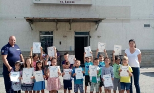 Завърши Детска полицейска школа 2021
